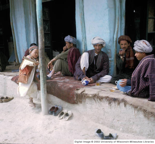 Drinking Tea Together in Afghanistan (Used by permission of AGS Library, one-time use.)