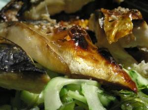 Broiled mackerel (Used by permission of Laurel Fan.)
