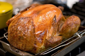Roasted Stuffed Turkey