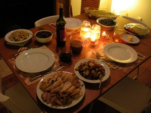 Thanksgiving Dinner---The Dream (Used with permission.)