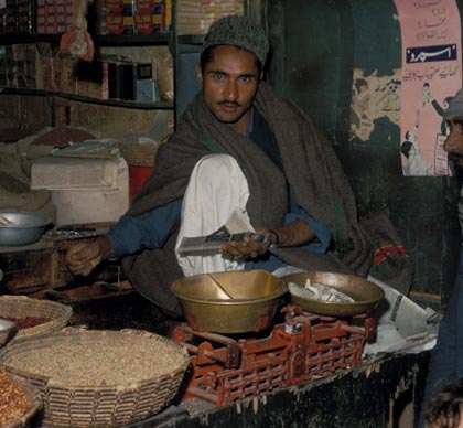 Afghan Food Vendor (Used with permission of AGS Library.)