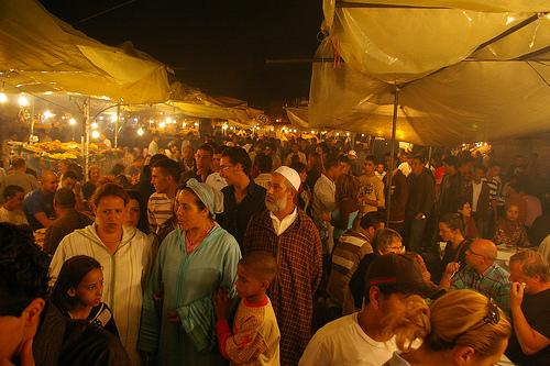 Ramadan in Morocco, Marrakesh (Used with permission of Phil Gregson.)