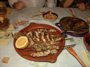 Fish Skewers in Morocco (Used with permission of Xosé Castro Roig.)