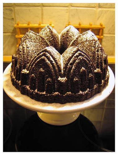 Chocolate Bundt Cake (Used with permission