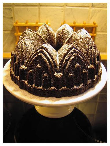 Chocolate Bundt Cake (Used with permission