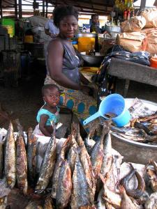 Fish Vendor, Ghana (Used with permission of Joshua Treviño.)