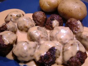 Norwegian Meatballs (Permission pending.)