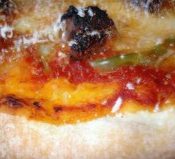 Pizza Up Close (Photo credit: C. Bertelsen)
