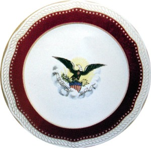 China Used in the Lincoln White House