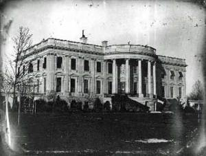 White House at the Time of Abraham Lincoln