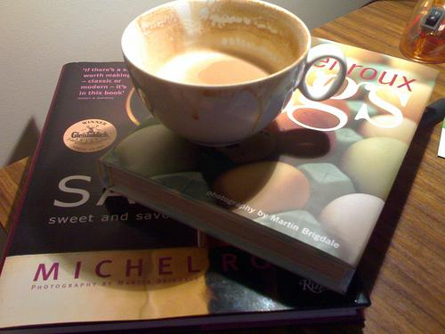 Books, Coffee, and Time to Read (Used with Permission.)