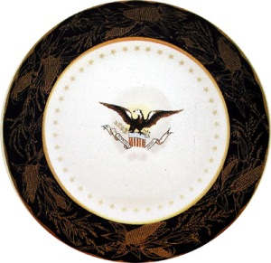 China Used in Harrison White House