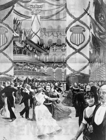 Harrison Inaugural Ball 1889