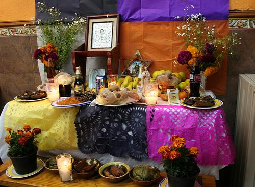 Day of the Dead Altar (Used with permission.)