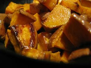 Sweet Potatoes with Crusty Glaze (Used with permission.)