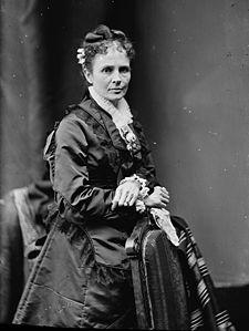 First lady Lucretia Garfield