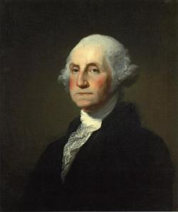 George Washington, by Gilbert Stuart