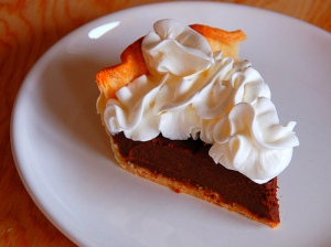Chocolate Pie (Photo credit: Paul Moody)