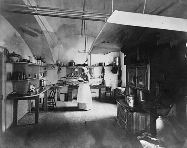 White House Kitchen Nineteenth Century