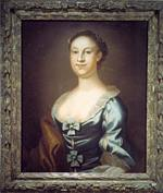 Betty Washington Lewis, painted by John Wollaston c. 1800