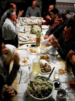 Portuguese Christmas Eve Dinner (Photo credit: Ana Campos)