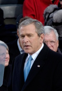 George W. Bush at Second Inaugural