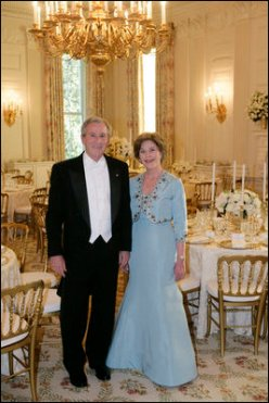 George W. and Laura Bush (White House photo by Shealah Craighead)