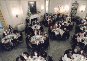 Bush White House Dining Room