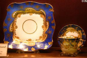 Cleveland White House China Pattern