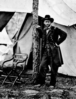 Grant at Cold Harbor, Virginia, 1864 (Photo credit: Matthew Brady)