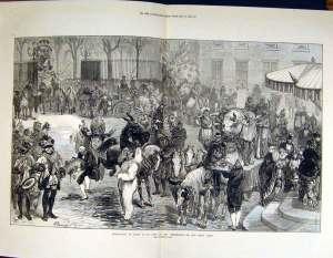 Boeuf Gras Paris 1800s