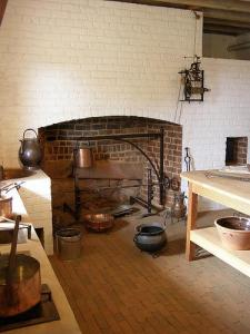 Restored Kitchen at Monticello