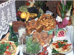A St. Joseph's Day Table