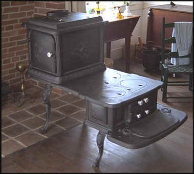 Step-side stove