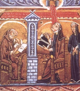 hildegard-reading-and-writing