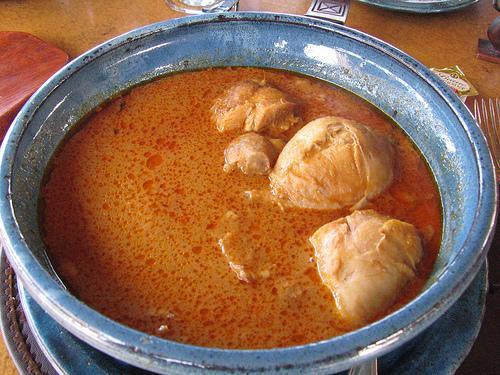 Groundnut and Chicken Soup (Photo credit: John Tolva)
