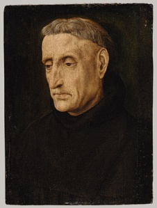 Benedictine Monk (Portrait by Hugh van der Goes)