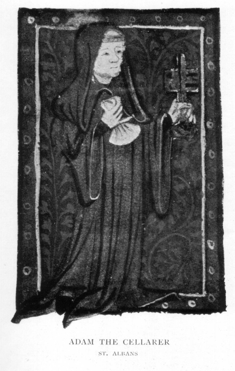 Adam the Cellarer, St. Alban's