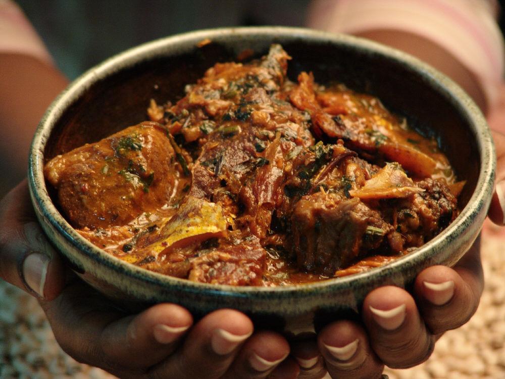 Africa locust bean soup
