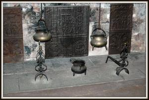 Cooking equipment and hearth, Chateau de Chillon (Photo credit: Steven Wagner)