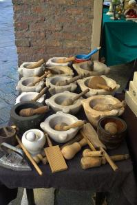 Mortars and pestles, Italy (Photo credit: Mario Bernardini)
