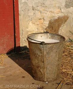 Old Milk Bucket (U.S.) (Photo credit: Jim Frazier)