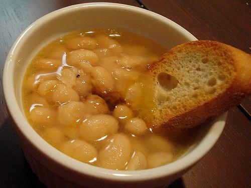 Cooking equipment Tuscan white bean soup