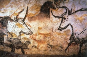 Cave Paintings at Lascaux, Dordogne, France