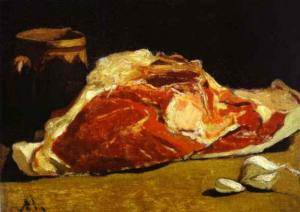 Still Life with Piece of Beef