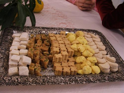 Persian Desserts (Photo credit: Cyrus Farivar)