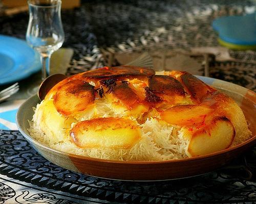 Tah-Dig (Rice with Potatoes)