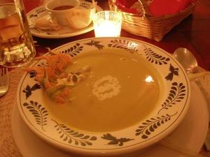 Cream-of-Squash-Blossom Soup