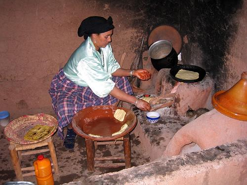 Cooking in a Berber Kitchen (Photo credit: Shaun Dunphy)