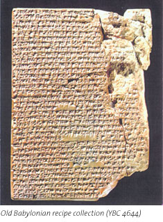 Cuneiform Recipes (Photo credit: Yale University)